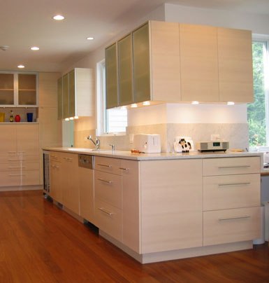 Fisher Project Custom Kitchen